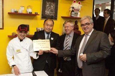 L'AFMR remet sa plaque au premier restaurant japonais Maître Restaurateur | Hisayuki Takeuchi, cook master | Scoop.it