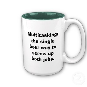 The myth of multitasking: Another case for performance support | Notas de eLearning | Scoop.it