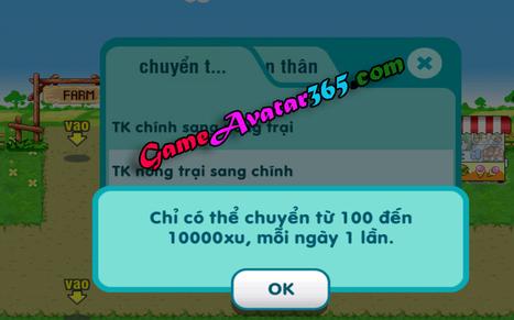 Thay đổi nhiệm vụ chuyển tiền trong avatar | Game avatar | Scoop.it