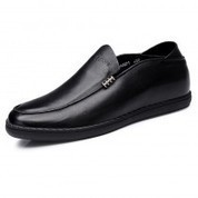 Elevator slip on driving loafers for men gain taller - MEN_00602_01 | dress elevator shoes for men get taller | Scoop.it