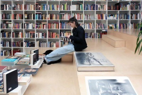 Plural Bookshop | Fubiz™ | Les librairies-café | Scoop.it