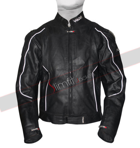 Vulcan Black NF-8141 Armored Motorcycle Jacket | Motorcycle Leather Jackets For Men and Women | Scoop.it