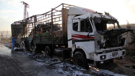 Las Fuerzas Aéreas Sirias no atacaron convoy de ayuda de la ONU en Alepo | La R-Evolución de ARMAK | Scoop.it