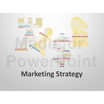 Marketing Strategy Word Cloud : For Sale | PowerPoint Presentation Tools and Resources | Scoop.it