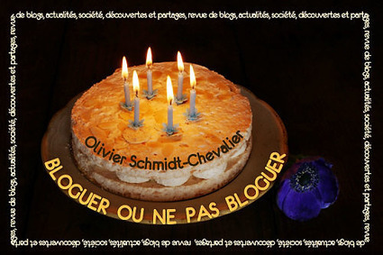 Bloguer ou ne pas bloguer » Bloguer ou ne pas bloguer a six ans ! | The Blog's Revue by OlivierSC | Scoop.it