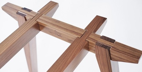 This Table Slides Together Without Screws, Dowels, Or Glue | Pensar design | Scoop.it
