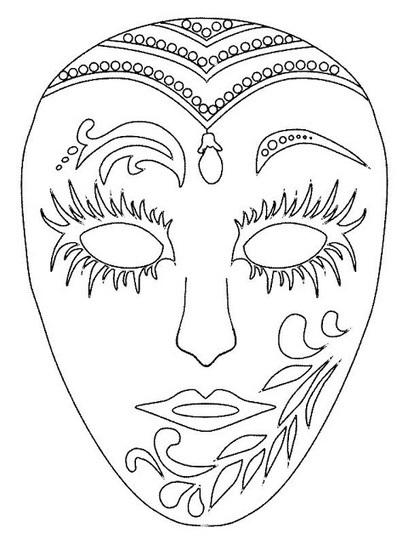 Blog Jonathan Cruz: Máscaras de Carnaval - Para imprimir e colorir   Hort escolar i manualitats   Scoop.it