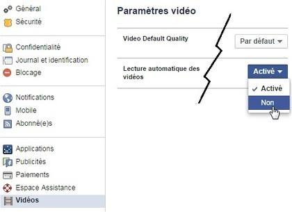 [Facebook] Désactiver la lecture automatique des vidéos | Astuces hebdo | Astuces | Scoop.it