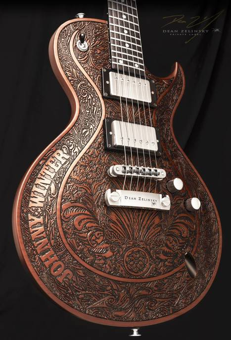 Dean Zelinsky Guitars | Heart is a Lock, Music is the Key | Scoop.it