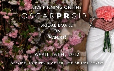 Oscar de la Renta to Live-Pin Bridal Show on Pinterest | Pinterest | Scoop.it
