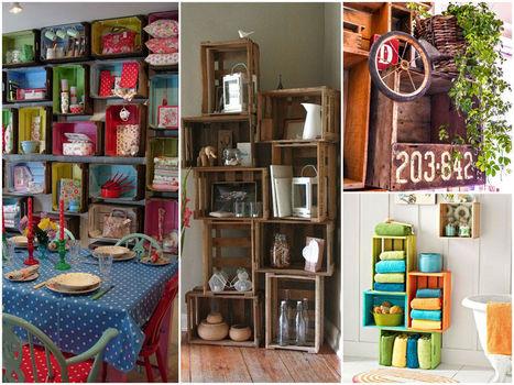 12 idées pour recycler des caisses en bois | ♥Inspiration, coups de coeur & creation♥ | Scoop.it