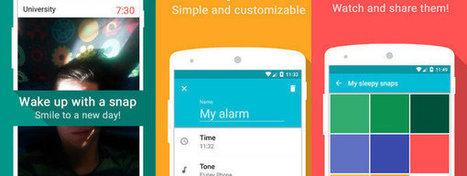 Un despertador que solo se apaga haciéndote un selfie | #Biblioteca, educación y nuevas tecnologías | Scoop.it