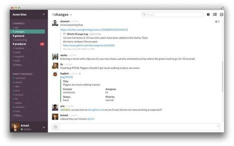 Slack is now the fastest-growing workplace software ever   #BreakingLeft   Scoop.it