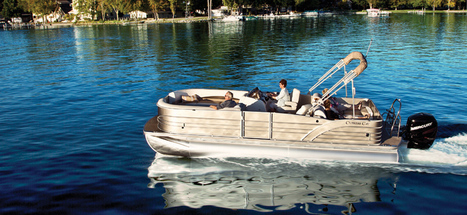 Cozumel 240 Pontoons   Custom Pontoon Boats   Personal Pontoon Boats : 2014   Pontoon Boats   Scoop.it