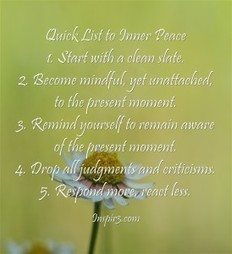 5 Step Challenge for Inner Peace and Resiliency - Inspir3 | Personal Development & Improvement | Scoop.it
