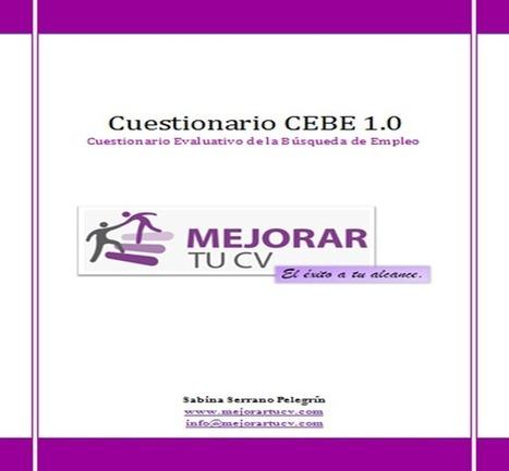 Cuestionario CEBE: valora tu búsqueda de empleo   Búsqueda de empleo   Scoop.it