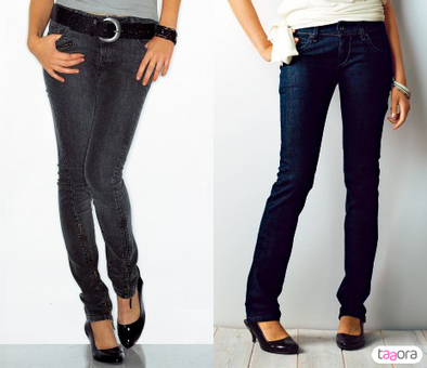 Quel jean pour ma silhouette ? | Taaora - Blog Mode, Tendances, Looks | Ma mode femme | Scoop.it