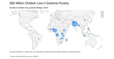 Chart: 385 Million Children Live in Extreme Poverty | Development Blog Watch | Scoop.it