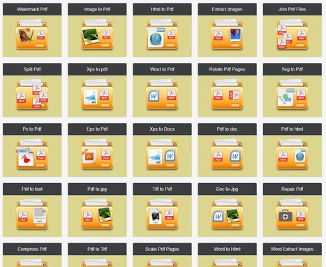Pdf Tools Online - Watermark and Pdf Conversion | FOTOTECA INFANTIL | Scoop.it