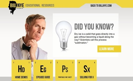 Bill Nye – The Science Guy | UKEdChat - Supporting the Education Community | Oscillations | Scoop.it