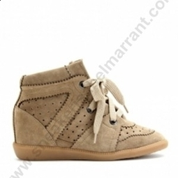 Good Quality Cheap Sale NYHID-61S Isabel Marant Sneakers BobBy Camel Suede Wedge Sneakers | sneakerisabelmarrant.com | Scoop.it
