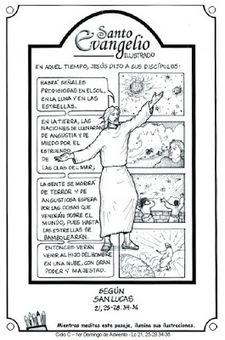 EDUCACIÓN RELIGIOSA: EVANGELIO DOMINICAL EN CÓMIC: (I ADVIENTO) 02 DE DICIEMBRE DEL 2012 | Biblia | Scoop.it