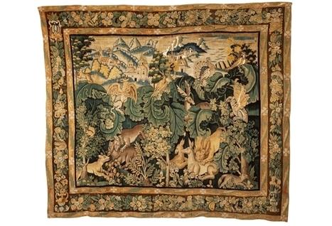 Une histoire de la tapisserie d'Aubusson | L'observateur du patrimoine | Scoop.it