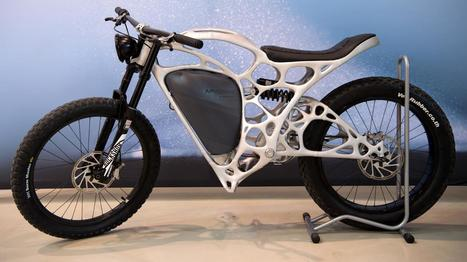 VIDEO. Voici la Light Rider, la moto du groupe Airbus imprimée avec une imprimante 3D | Planete DDurable | Scoop.it