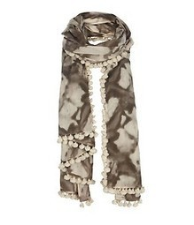 New wth Tags All Saints Large SHIBORI SCARF Sarong Wrap Cotton BNWT Sold Out | Shot Of Steam | Scoop.it