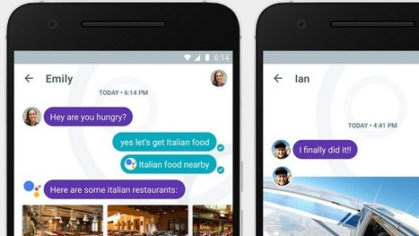 Google veröffentlicht intelligenten Messenger Allo | #SocialMedia  | Social Media and its influence | Scoop.it