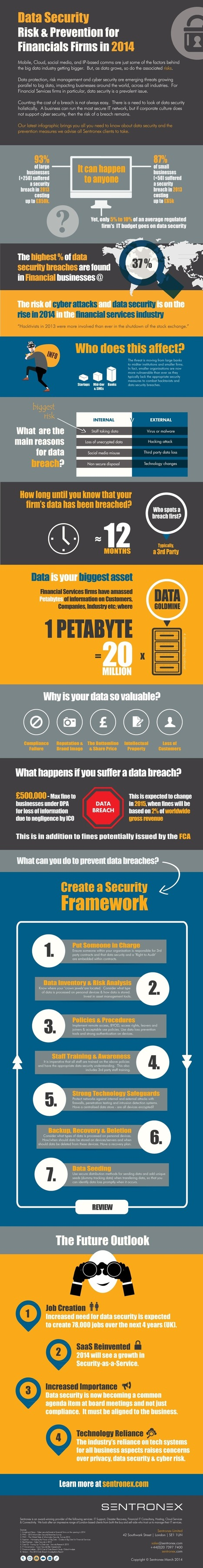 INFOGRAPHIC: Data Security Risk And Prevention | Cloud Central | Scoop.it