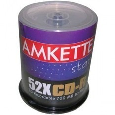 Buy Amkette Pro CD-R 52x 100 CB India Online- Find Price and Reviews for Amkette Pro CD-R 52x 100 CB �timtara | Bunty Business & News | Scoop.it