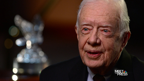 A Call to Action: An Exclusive with Jimmy Carter - NBC News  #NSA | Criminal Justice in America | Scoop.it