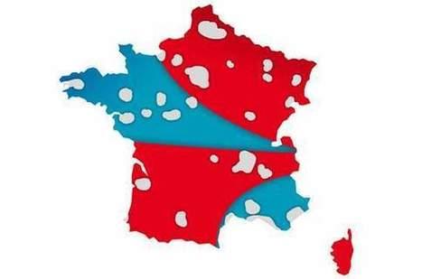 La carte qui explique comment Bouygues et SFR vont se partager la France | Libertés Numériques | Scoop.it