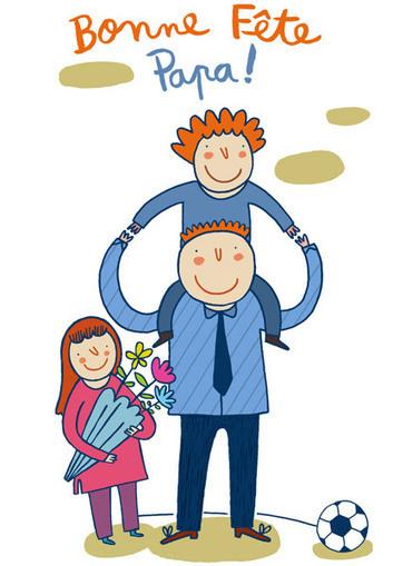 Bonne fête papa ! Notre Carte de vœux gratuite à imprimer | Handicap et société | Scoop.it