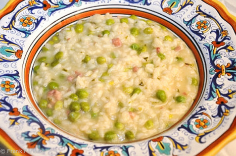 #Recipe Risi e bisi (Venetian-Style Rice and Peas) | CretaVita Extra Virgin Olive Oil Producer #OliveOil #EVOO | Scoop.it