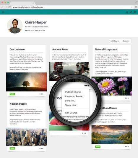 CloudSchool. Créer des cours en ligne | Ma boîte à outils | Scoop.it