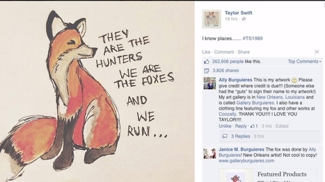 Taylor Swift Used Stolen Artwork For Her Album And The Artist Is Miffed | Ed Tech Chatter | Scoop.it