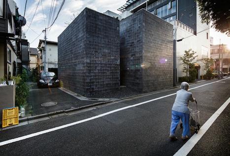 Diaporama : Les étranges maisons de Tokyo par Jérémie Souteyrat   Veille en Habitat-immobilier   Scoop.it