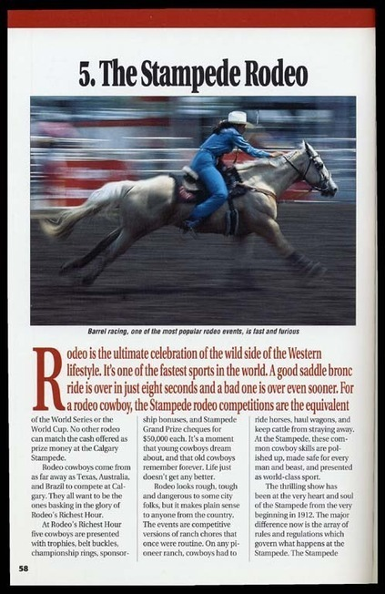 Viewing page The Stampede rodeo of Calgary Stampede and the Canadian West   Calgary Stampede Through the Years   Scoop.it