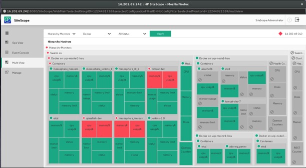 Docker and hpe accelerating modern app architectures in for Sitescope templates