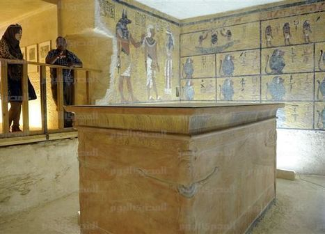 Tutankhamun's tomb to be photographed with infrared Thursday | Egyptology and Archaeology | Scoop.it