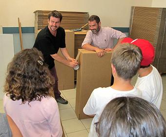 Participez à la construction d'une ville en carton - Ville d'Angers | BIM | Scoop.it