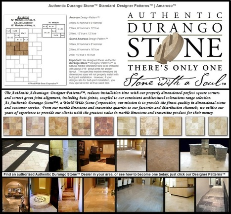 1 of 13 Arizona Travertine Tile Flooring Design Patterns Series | Popular Marble Limestone Travertine Tile Patterns | Scoop.it