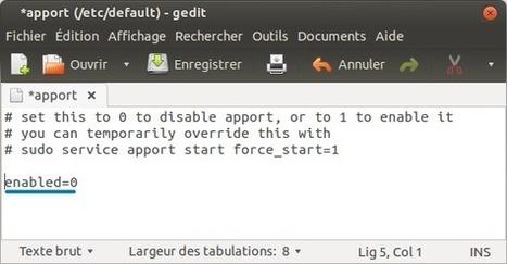 Trucs & astuces : Désactiver les demandes de rapport de bug | ubuntuser.com - Toute l'actualité sur Ubuntu | Planet Ubuntu-fr | Scoop.it