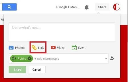 Sharing links on Google+ as DoFollow or NoFollow | RankWise | SEO | Scoop.it