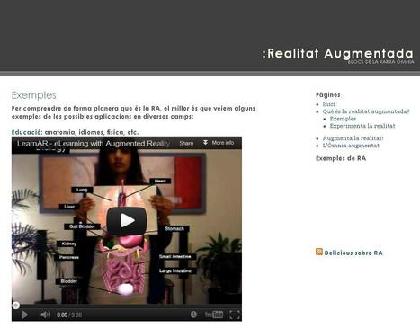 Realitat Augmentada » Exemples | Educacioaunclic | Scoop.it