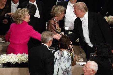 Clinton and Trump Joked About Each Other at a Charity Dinner. Trump Was Booed | A WORLD OF CONPIRACY, LIES, GREED, DECEIT and WAR | Scoop.it