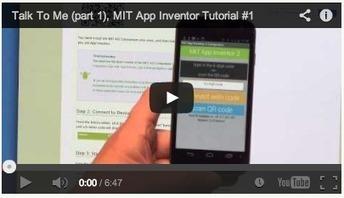 Beginner Video Tutorials | Explore MIT App Inventor | PROYECTOS, EXPERIMENTOS...CCNN y MATES | Scoop.it