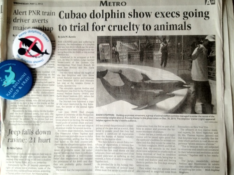 Cubao dolphin show execs going to trial for cruelty to animals / Philippine Daily Inquirer | Makamundo (Earthly) | Scoop.it